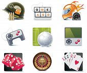 picture of video game  - Vector video games icons - JPG