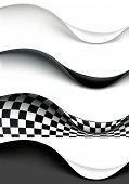 Wave Banners, vector