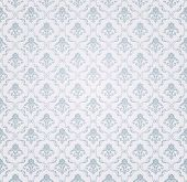 Blaue Seamless Wallpaper Pattern, Vektor