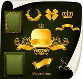 pic of gobelin  - Vintage design elements - JPG