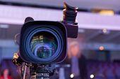 Professional Digital Video Camera. poster