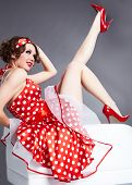 Pin-up girl. Estilo americano