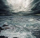 pic of storms  - Ocean storm - JPG