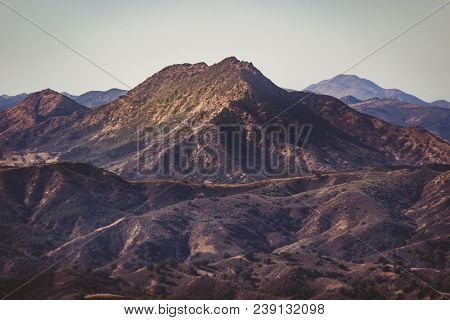 Scenic Overlook Of Calabasas With