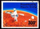 Upper Volta Postage Stamp Viking Space Explorer Ship Lander Mars