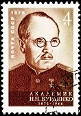 Soviet Russia Postage Stamp Nikolay Burdenko Red Army Surgeon