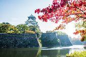 Osaka Castle Imperial Palace In Osaka, Japan poster
