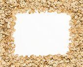 Frame Of Oatmeal.