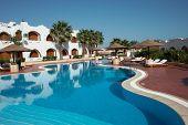 Swimmnig Pool In Resort