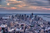 Manhattan desde vista del Empire State Building