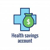 Medical Tax Savings W Health Savings Account Or Flexible Spending Account - Hsa, Fsa, Tax-sheltered  poster
