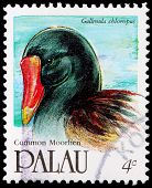 A 4-cent Stamp Printed In Palau