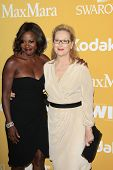 BEVERLY HILLS - JUN 12: Meryl Streep, Viola Davis at the 2012 Women In Film Crystal + Lucy Awards held at The Beverly Hilton Hotel on June 12, 2012 in Beverly Hills, California