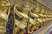 Thai Mythological Demon Monkey Guards