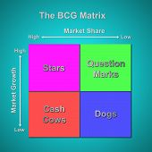 The Bcg Matrix Chart (marketing Concept)