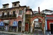 Abandoned traditional houses in Portugal
