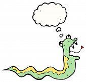 cartoon snake slithering