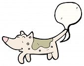 pic of farting  - cartoon farting dog - JPG