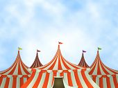 Circus Tents Background