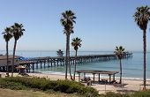 San Clemente Pier On A Calm Day