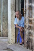 vietnamesische Alter Alter Mann