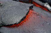 Lava Flow - Hawaii Volcanoes National Park