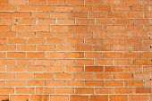 Brick wall ideal for backgrounds and textures