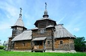 Orthodox wooden church Suzdal