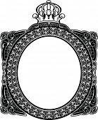 Decoratieve Koninklijke Vintage Oval Frame