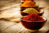 stock photo of saffron  - Spice - JPG