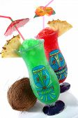 Two Tiki Tropical Drinks