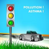 World Asthma Day Background.