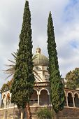 stock photo of beatitudes  - Basilica on Mount of Beatitudes - JPG