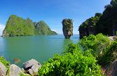 pic of james bond island  - james bond island in thailand - JPG