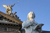 Statue Of Friedrich Schiller