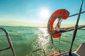 Life Vest On Boat