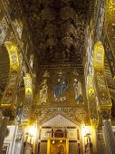 Palatine Chapel Decoration And Mosaic