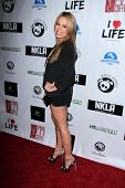 LOS ANGELES - APR 2:  Jessica Hall arrives at  the No Kill L.A. Charity Event at the Fred Segal on A