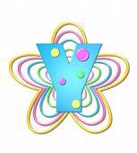 Alphabet 3D Beads Y