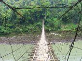 Hanging Footbridge Pangin