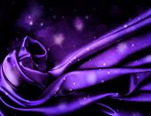 Chic flashing dark violet silk background.