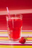 Bebida de fresa