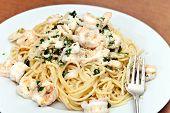 Shrimp And Squid Pasta