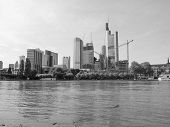 pic of frankfurt am main  - View of the city of Frankfurt am Main from the River Main - JPG
