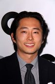 LOS ANGELES - NOV 12:  Steven Yeun at the GQ 2013