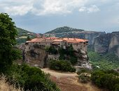 Holy Monastery Of Varlaam At Meteora