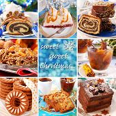 Collage With Christmas Sweets