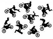 Motorcross Rider Jump