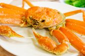 Steamed Alaska King Crab