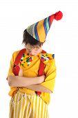 Resentful Clown Boy